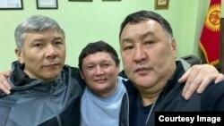 Максат Мамытканов, Сыймык Жапыкеев жана Канат Хасанов.