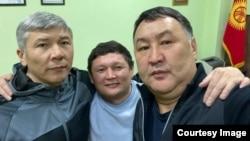 Слева направо: Максат Мамытканов, Сыймык Жапыкеев и Канат Хасанов.