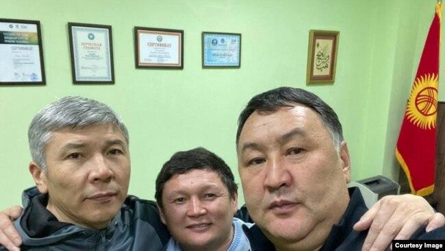 Максат Мамытканов, Сыймык Жапыкеев, Канат Хасанов.