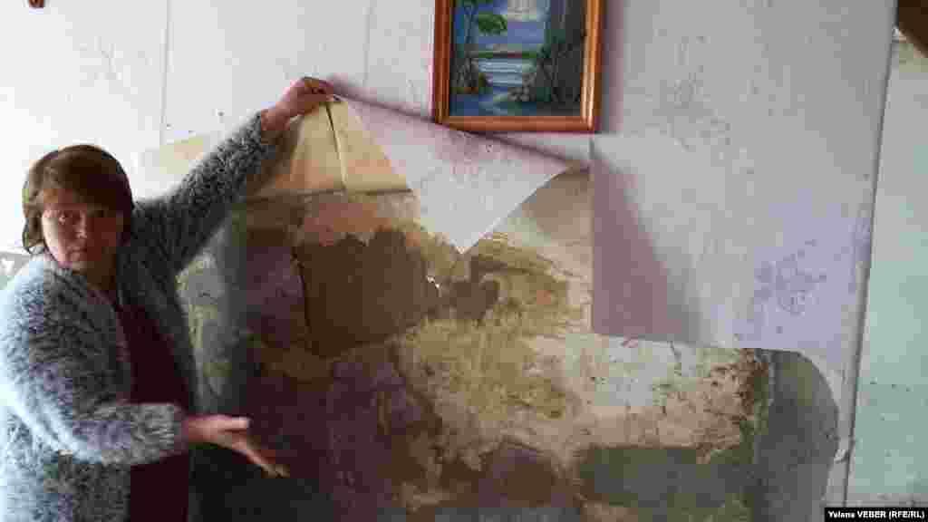Люди опасаются за состояние своих домов, которые перенесли уже не одно затопление. Считают проживание в таких пострадавших домах небезопасным. Большинство домов в этом селе шлаколитые, и они насквозь пропитаны водой. У некоторых из стен еще сочится вода, штукатурка отваливается кусками.