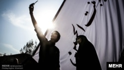 مراسم اربعین در تهران