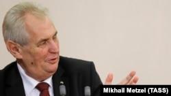 Чешкиот претседател Милош Земан