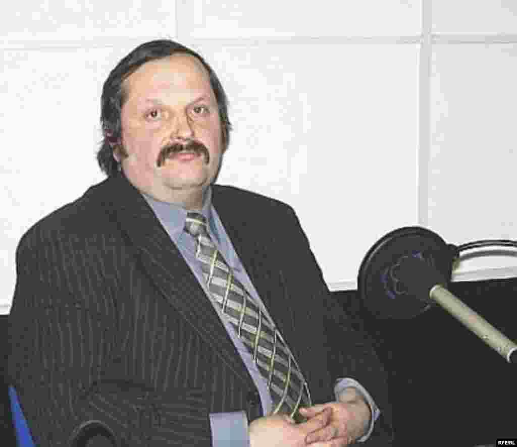 Историк и независимый политолог Алексей Резников