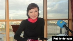 Корреспондент телеканалов «Хабар» и 24.kz в Лондоне Бэла Кудайбергенова.