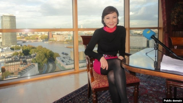 Russian-born reporter Bela Kudaibergenov had been working for Kazakh state TV for 12 years before her abrupt departure last week.