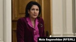 Как отметили наблюдатели, Саломе Зурабишвили в очередной раз подтвердила: для нее существует одно единственное правильное мнение – ее собственное