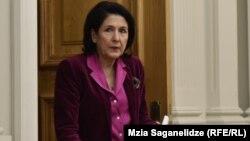 Саломе Зурабишвили считает особенно важным разработку нового правила помилования, а также вопрос комплектации комиссии