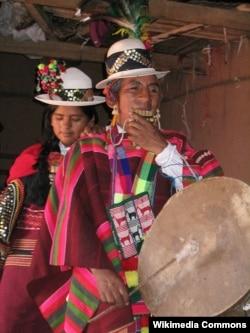 Женщины народа аймара