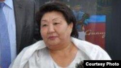 Жумагуль Тыналиева, мать знаменосца Нурмухана Тыналиева.