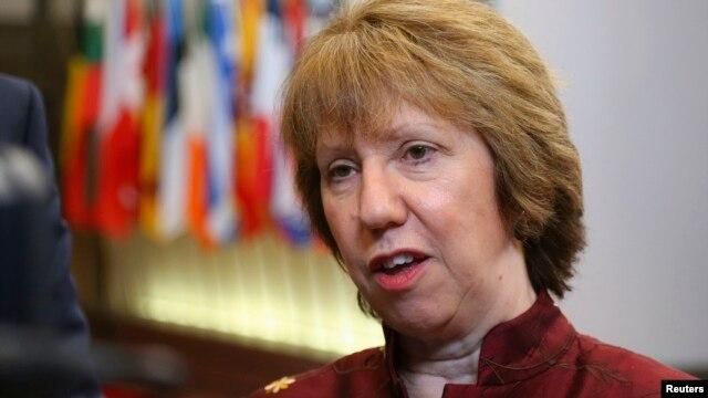کاترین اشتون، مسئول سابق سیاست خارجی اتحادیه اروپا