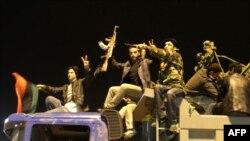 Повстанцы в Бенгази ликуют после голосования по Ливии в Совете безопасности ООН