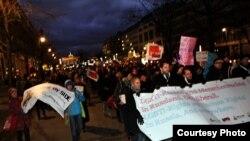Берлинцы против гомофобии в России