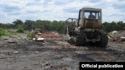 Процес знищення партії європейських фруктів, Крим