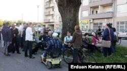 """Članovi Građanske inicijative """"Park je naš"""", Banjaluka"""
