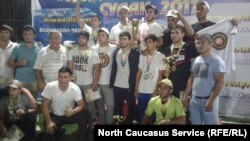 Участники турнира в Дагестане