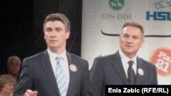 Zoran Milanović i Radimir Čačić