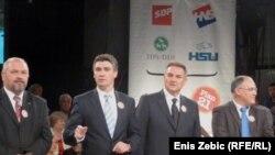 Лидерите на Кукурику коалицијата