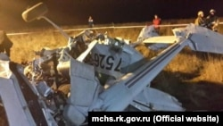 Місце аварії літака Cessna 336, 4 листопада 2015 року