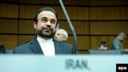 رضا نجفی،نماينده ايران در آژانس بينالمللی انرژی اتمی