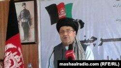 محمد گلاب منگل وزیر سرحدات اقوام و قبایل افغانستان