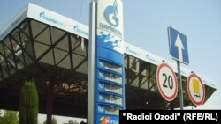 Tajikistan -- A view of petrol and gas station in Tajik capital Dushanbe, 16Aug2012