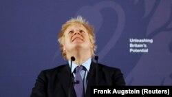 Boris Johnson fevralın 3-də etdiyi çıxış zamanı