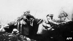 Архівне фото, французькі солдати, 1916 рік