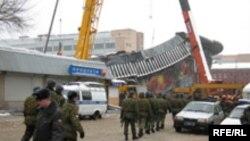 Basman bazarında faciə 2006-cı ilin fevralın 23-də baş verib