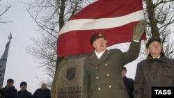 День легионера. Латвия, Рига, 2004 год