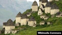 Даргавс - одно из самых посещаемых мест в Осетии