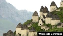 """""""Мертвый городок"""", Даргавс, Северная Осетия (архивное фото)"""