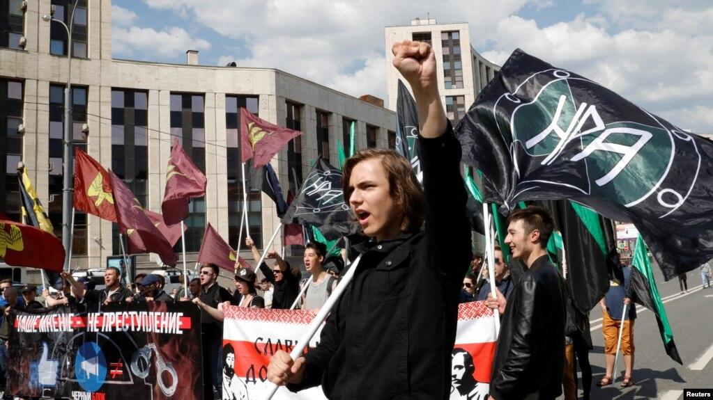 Картинки по запросу митинг 13 мая москва 2018