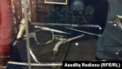 Azerbaijan History museum, exhibit. 4nov.2016