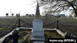 Памятник солдату Тимофею Романову на мысе Фиолент