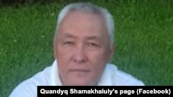 Журналист Куандык Шамахайулы.