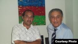 Kənan Hacı (solda) və İbrarim Nəbioğlu