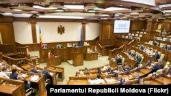La ședința Parlamentului din iulie 2019