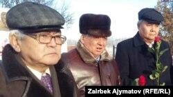 Акбар Рыскулов, Тынчтыкбек Нурманбетов и Кожогельди Култегин.