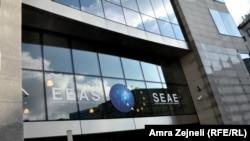 Будівля Європейської служби зовнішніх дій, Брюссель, архівне фото