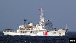 Китайское судно береговой охраны (архивный снимок 2014 года)