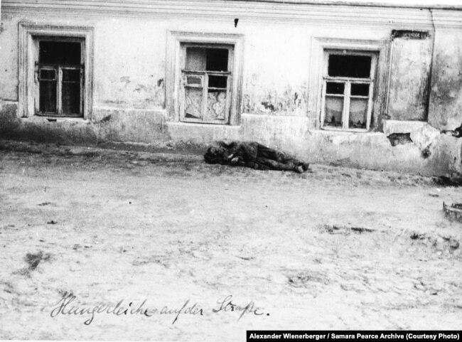 Жертва Голодомору в Україні. Фото австрійського інженера Александра Вінербергера