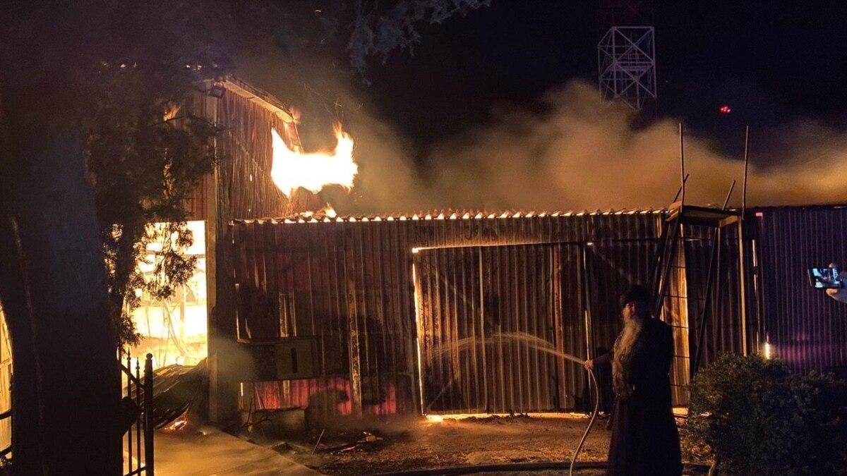 В Одессе нашли подозреваемого в поджоге монастыря УПЦ (МП)