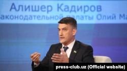 Лидер партии «Миллий тикланиш» Алишер Кадыров.