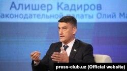 Председатель партии «Миллий тикланиш» Алишер Кадыров.