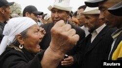 Иллюстрациялык сүрөт. Жалал-Абаддагы митингден, 2010-жылдын 14-апрели.
