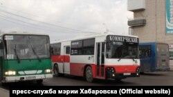 Автобусы в Хабаровске