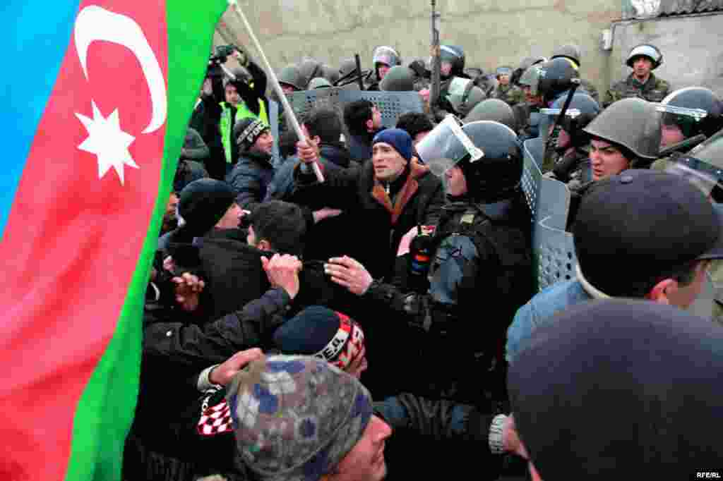 Protest Violence Erupts In Azerbaijan #8