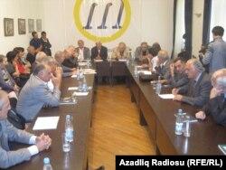 Ziyalılar Forumunun görüşü. 29 sentyabr 2011