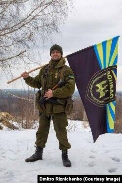 """Дмитрий Ризниченко в батальоне """"Донбасс"""""""