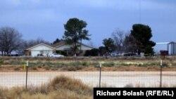 Дом семьи Шатто в городе Гардендэйл. Штат Техас, февраль 2013 года.